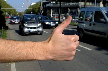 Hitchhiker thumb