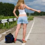 Hitchhiking on the Highway