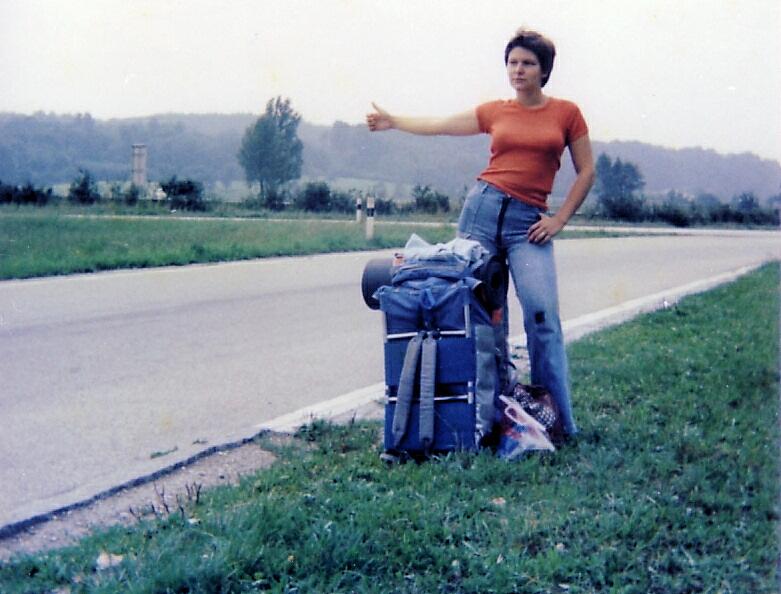 go hitchhiking